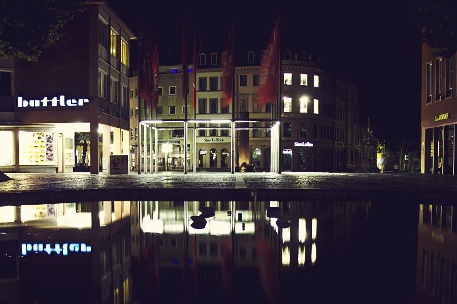 Mainz in der Nacht