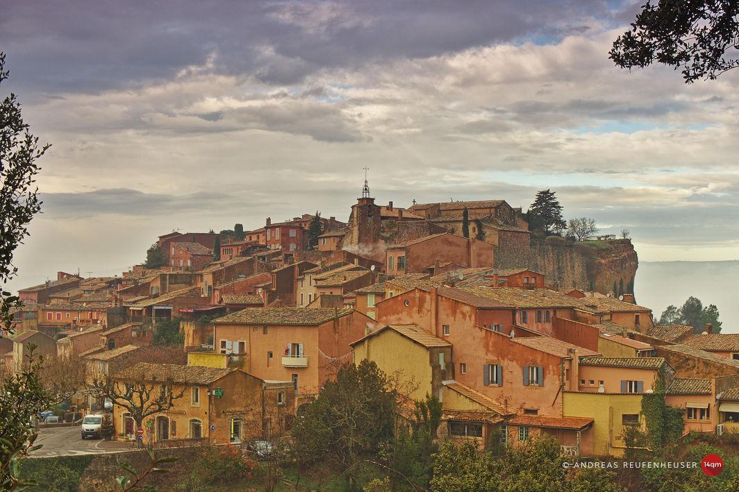 Roussillon kurz vor Weihnachten