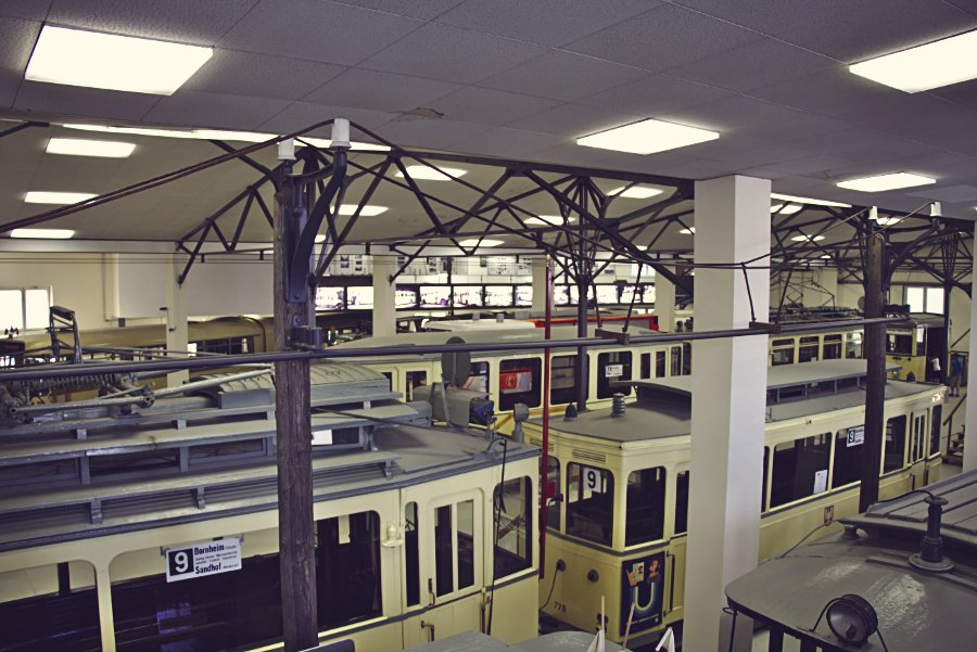 Schwanheimer Bahnstraße Verkehrsmuseum