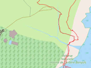 03 getrackte Route