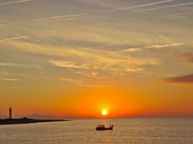 13a Sonnenaufgang in Carro