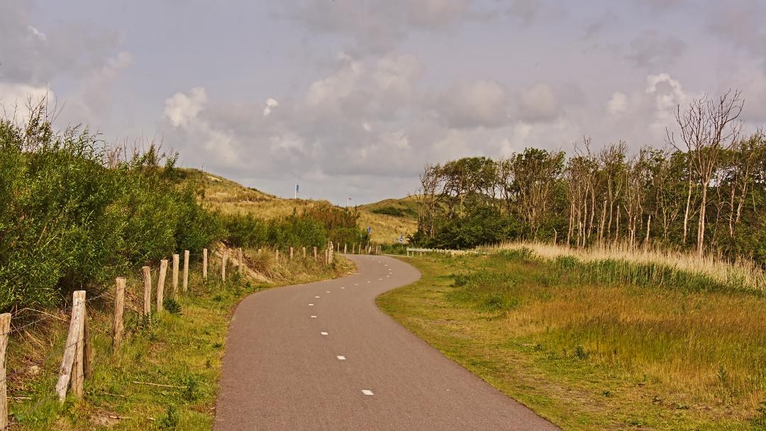 Fahrradweg Wacheren