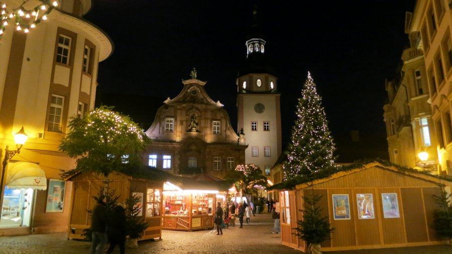 Wo Ist Weihnachtsmarkt Heute.Gestern Ettlingen Heute Karlsruhe 14qm
